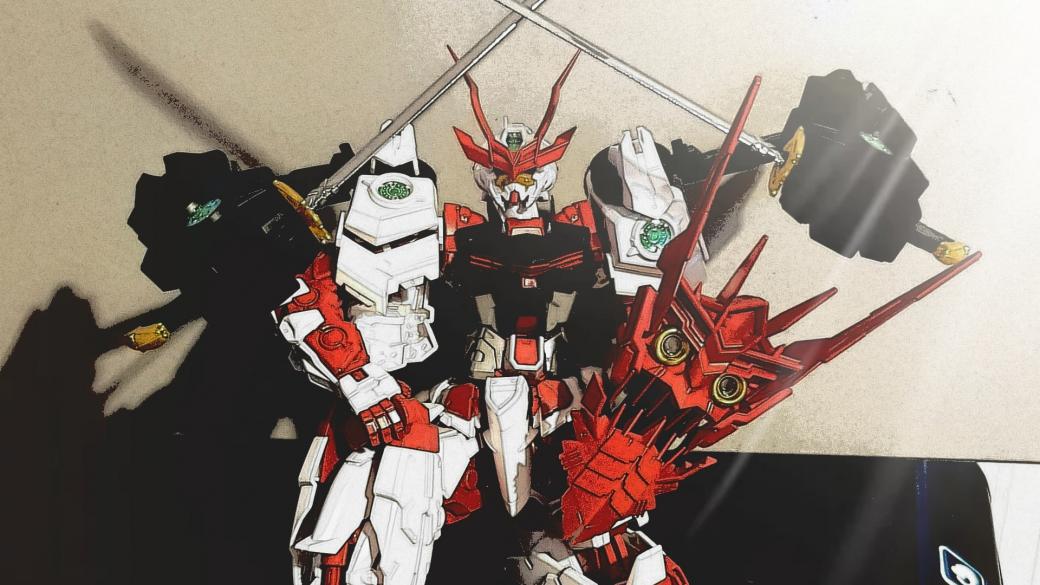 Sengoku Astray Gundam (MG 1/100) – Drazek's Model Blog